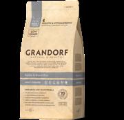 Grandorf Grandorf Cat Konijn & Bruine Rijst Adult 400gr