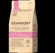 Grandorf Grandorf Cat Lam & Bruine Rijst Kitten 2kg