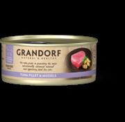 Grandorf Grandorf Cat blik Tonijnfilet & Mosselen 70gr