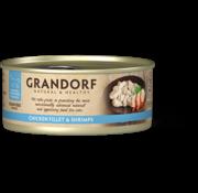 Grandorf Grandorf Cat blik Kipfilet & Garnalen 70gr