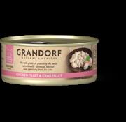 Grandorf Grandorf Cat blik Kipfilet & Krabfilet 70gr