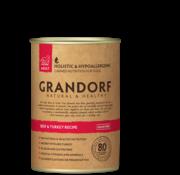 Grandorf Grandorf Blik Rund/Kalkoen 400gr
