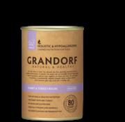 Grandorf Grandorf Blik Konijn/Kalkoen 400gr