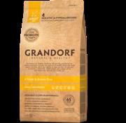 Grandorf Grandorf 4 Meat & Bruine Rijst Adult Small Breed 3kg