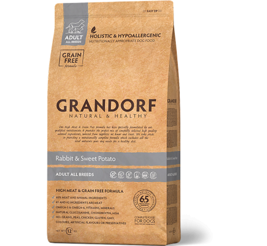 Grandorf Konijn & Aardappel Adult 3kg