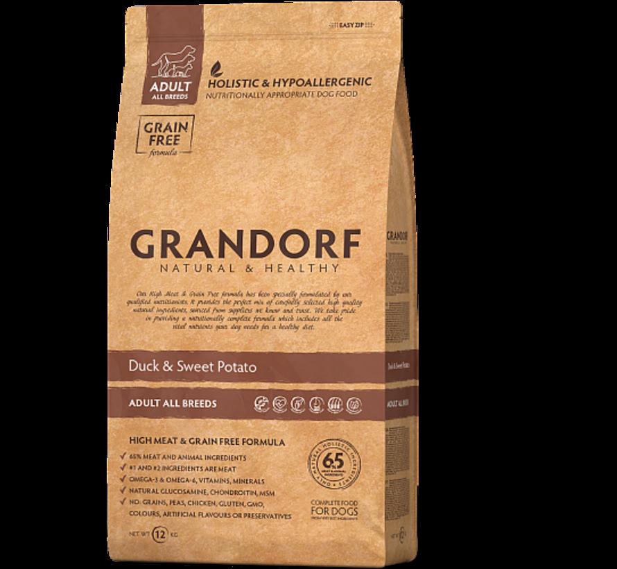 Grandorf Eend & Aardappel Adult 3kg