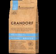 Grandorf Grandorf Witte vis & bruine rijst Adult 12kg