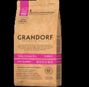 Grandorf Grandorf Kalkoen & Bruine rijst Adult 3kg
