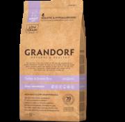Grandorf Grandorf Kalkoen & Bruine rijst Adult Small Breed 3kg