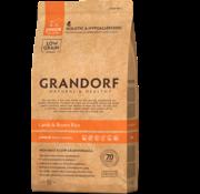 Grandorf Grandorf Lam & Bruine rijst Junior 12kg