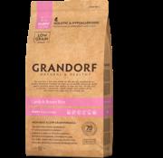 Grandorf Grandorf Lam & Bruine rijst Puppy 3kg