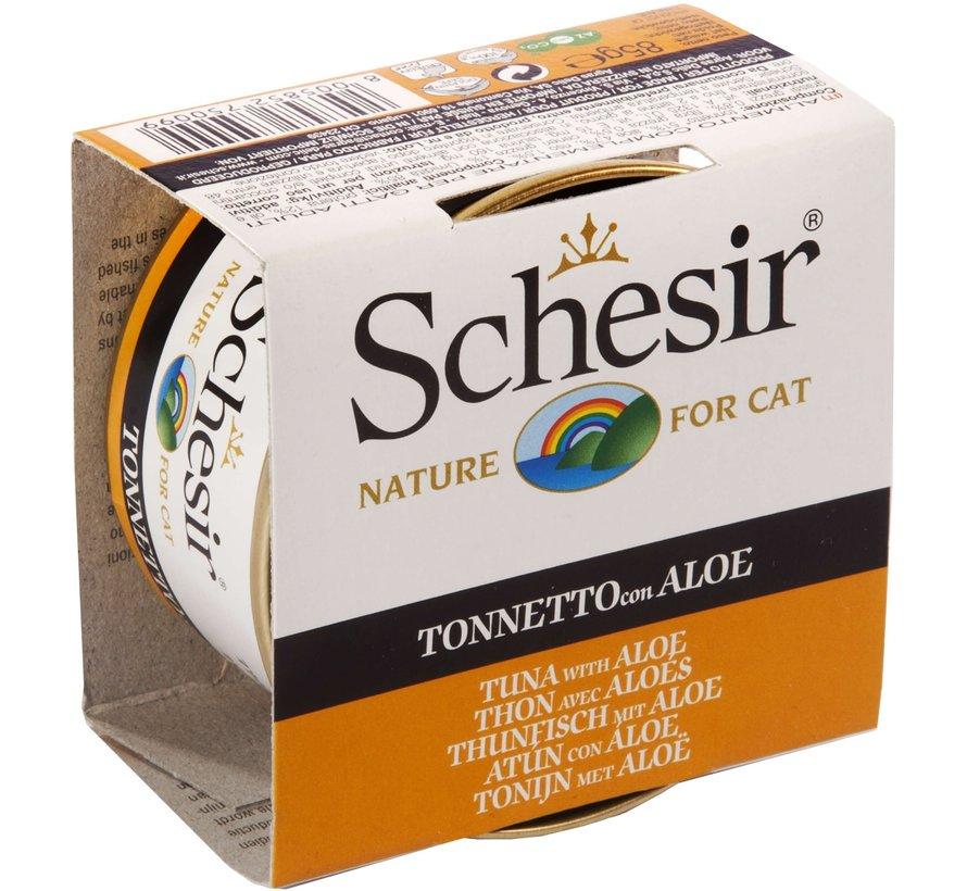 Schesir Cat 85gr - Tonijn & Aloë