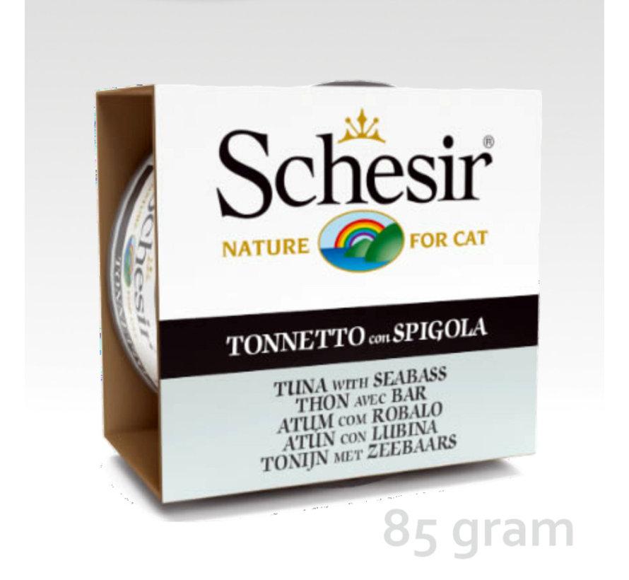 Schesir Cat 85gr - Tonijn & zeebaars