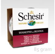 Schesir Schesir Cat 85gr - Tonijn & tandbrasem
