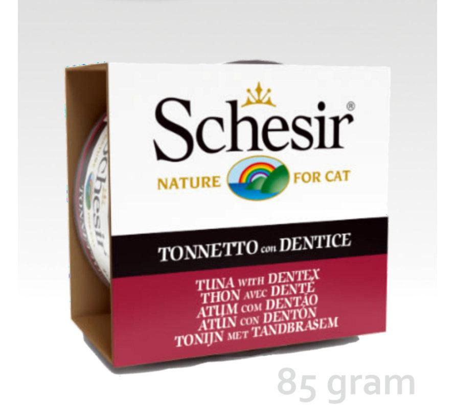 Schesir Cat 85gr - Tonijn & tandbrasem