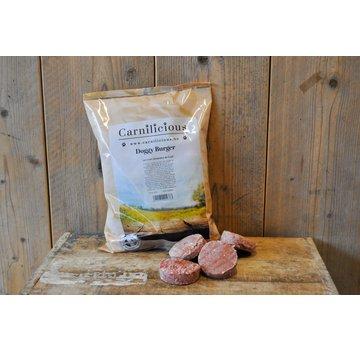 Carnilicious Carnilicious Doggy Burger Lam/Groenten 1 kg