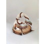 Carnilicious Carnilicious Rawhide Donut Runderslokdarm M
