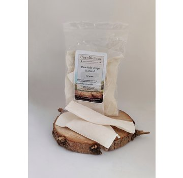Carnilicious Carnilicious Rawhide Chips Naturel 150gram