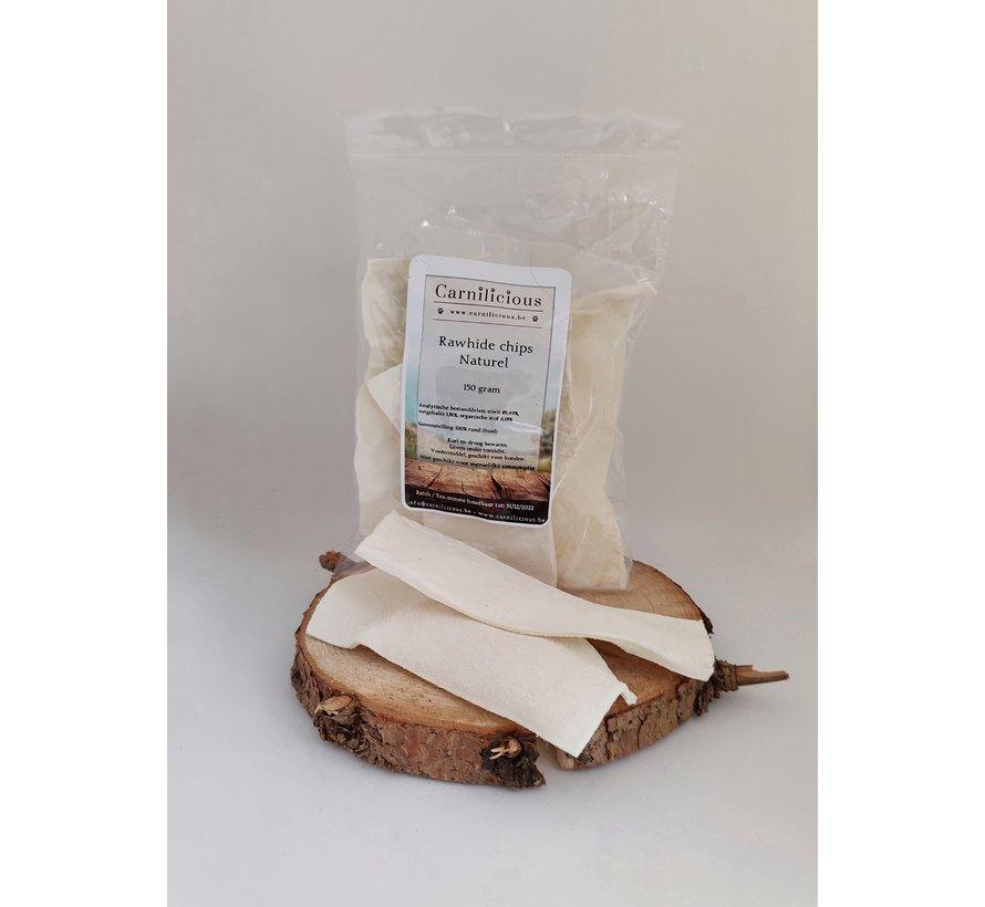 Carnilicious Rawhide Chips Naturel 150gram