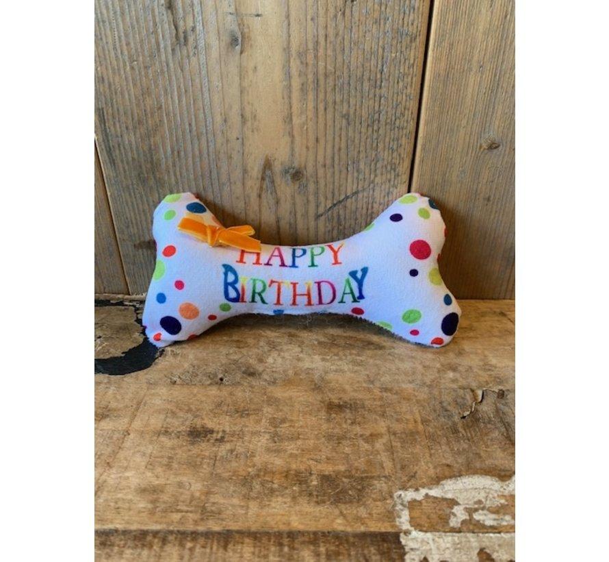 Dog Toy Birthday Bone