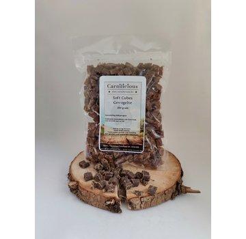 Carnilicious Carnilicious Soft Cubes Gevogelte 200 gram