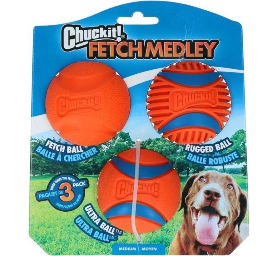 Chuckit Fetch Medley Gen3