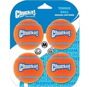 Chuckit Chuckit Strato Tennis Ball M 4pack