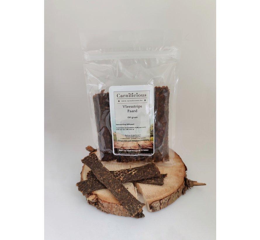 Carnilicious Vleesstrips Paard 150 gram