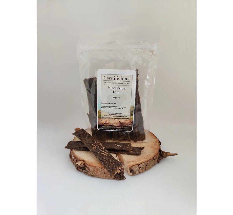 Carnilicious Vleesstrips Lam 150 gram
