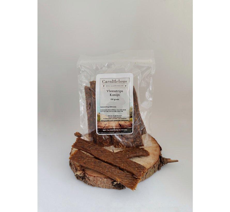 Carnilicious Vleesstrips Konijn 150 gram