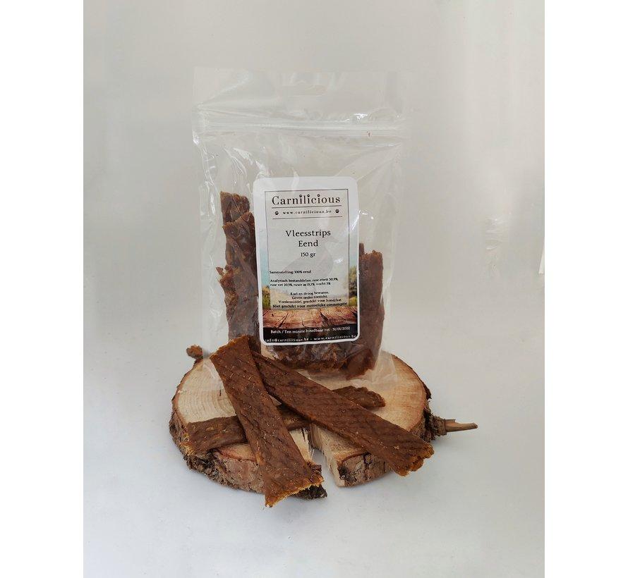Carnilicious Vleesstrips Eend 150 gram