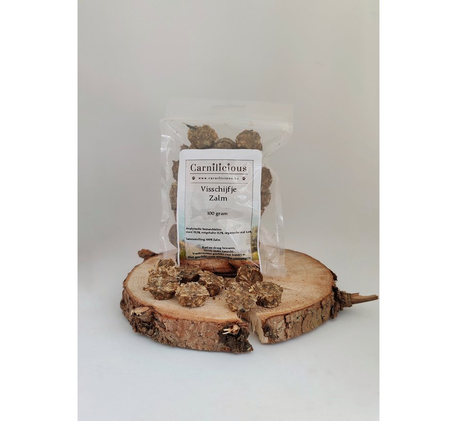 Carnilicious Visschijfje Zalm 100 gram