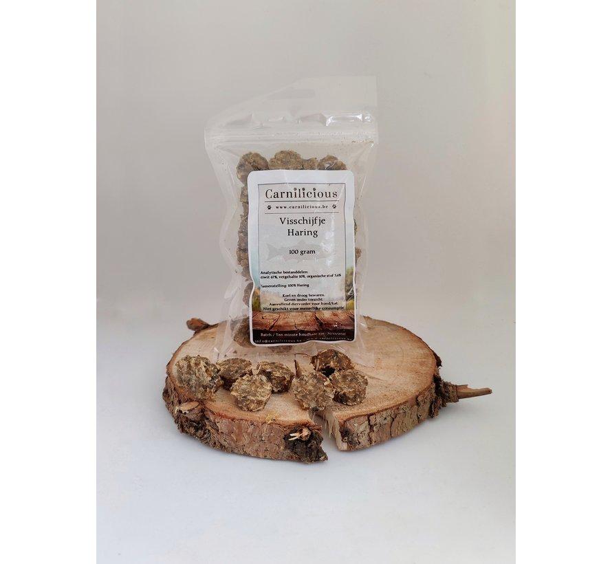 Carnilicious Visschijfje Haring 100 gram