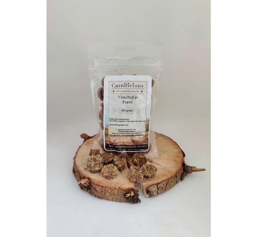 Carnilicious Visschijfje Forel 100 gram