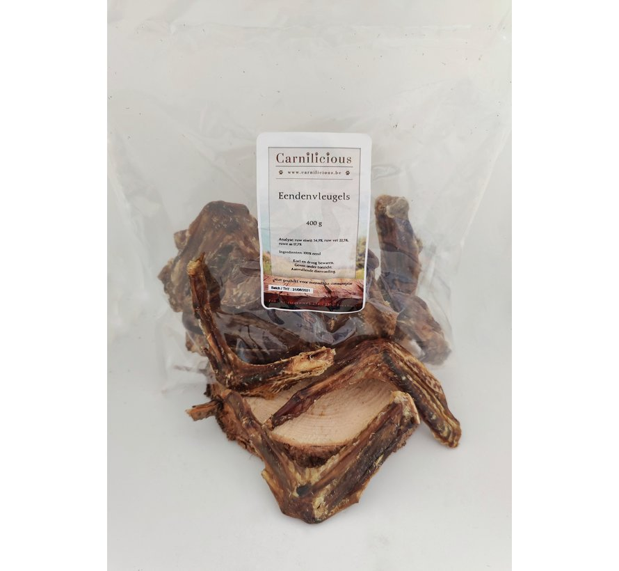 Carnilicious Eendenvleugels 400 gram