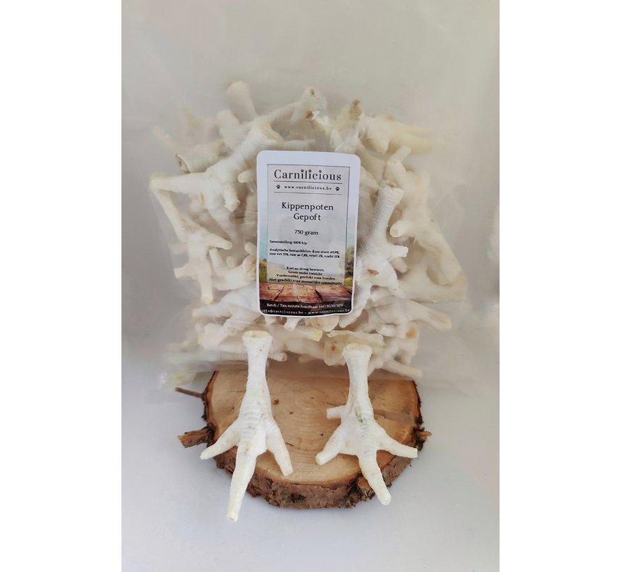 Carnilicious Kippenpoten gepoft 750 gram