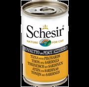 Schesir Schesir Cat 140gr - Tonijn & Sardine