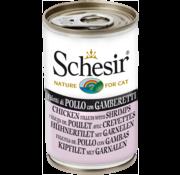 Schesir Schesir Cat 140gr - Kip & Garnalen