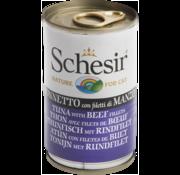 Schesir Schesir Cat 140gr - Tonijn & Rund (gelatine)