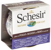 Schesir Schesir Cat 85gr - Kip met rund en rijst