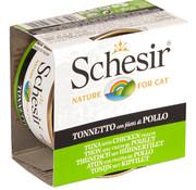 Schesir Schesir Cat 85gr - Tonijn met kip