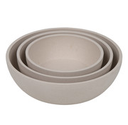 District 70 District70 Bamboo Dog Bowl L Beige
