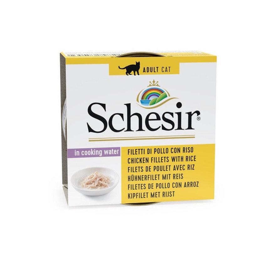 Schesir Cat 85gr - Kipfilet met rijst