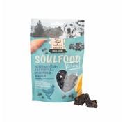 Soulfood Soulfood Bites Kip met zoete aardappel en vlierbes 130gr