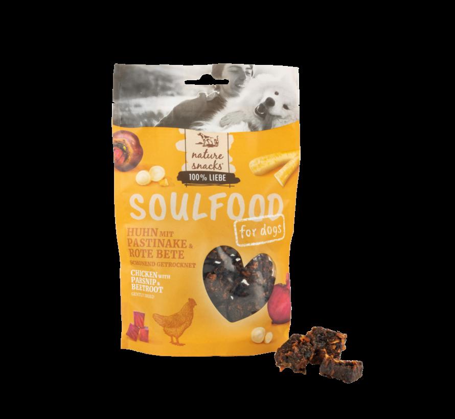 Soulfood Bites Kip met pastinaak en biet 130gr