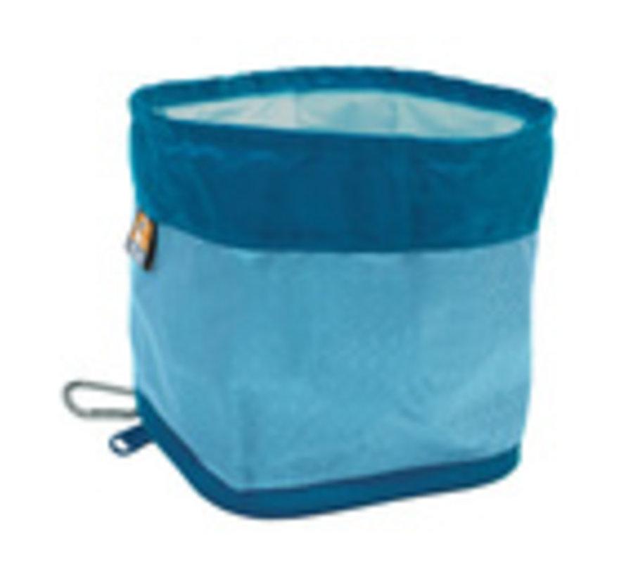 Kurgo Zippy Bowl Opvouwbaar drinkbakje Blauw 1.3L