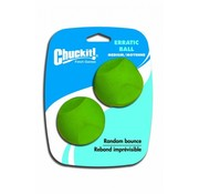 Chuckit Chuckit Erratic Ball M 6cm 2 pack