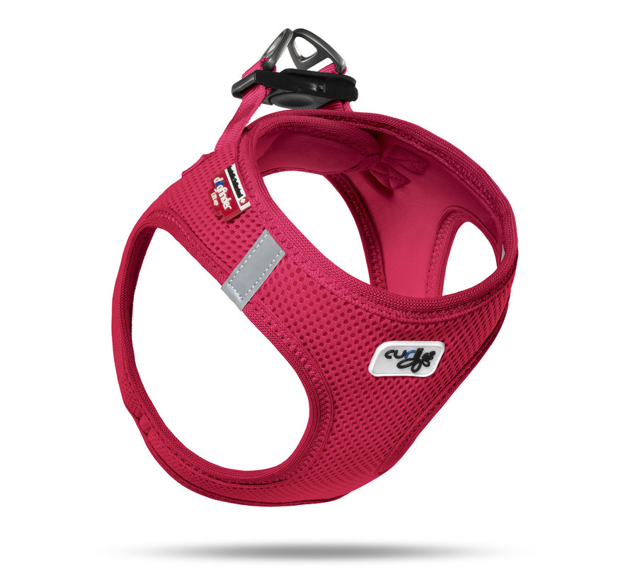 Curli Air-Mesh Red M