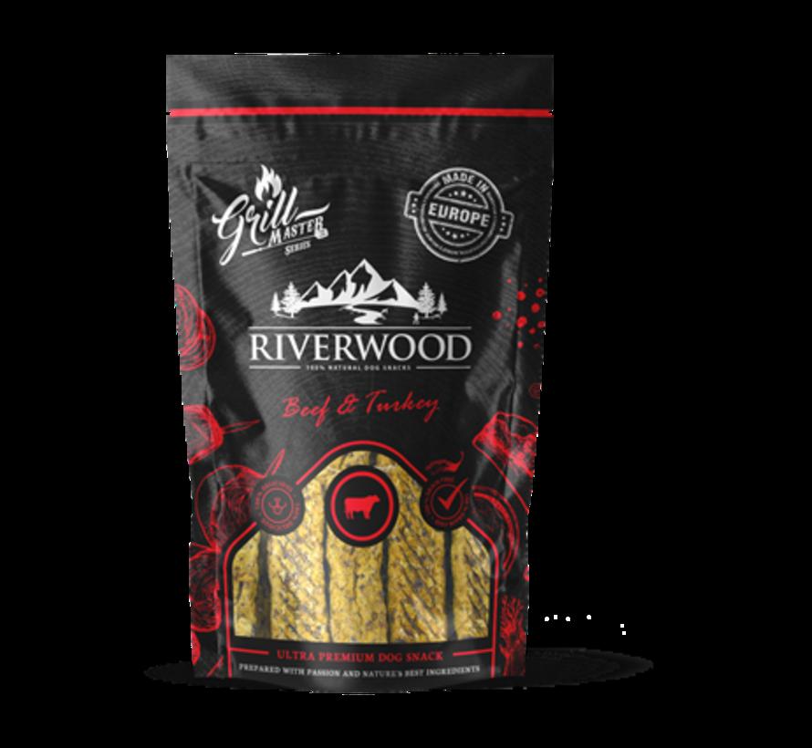 Riverwood Grillmaster Kalkoen/Rund 100gr