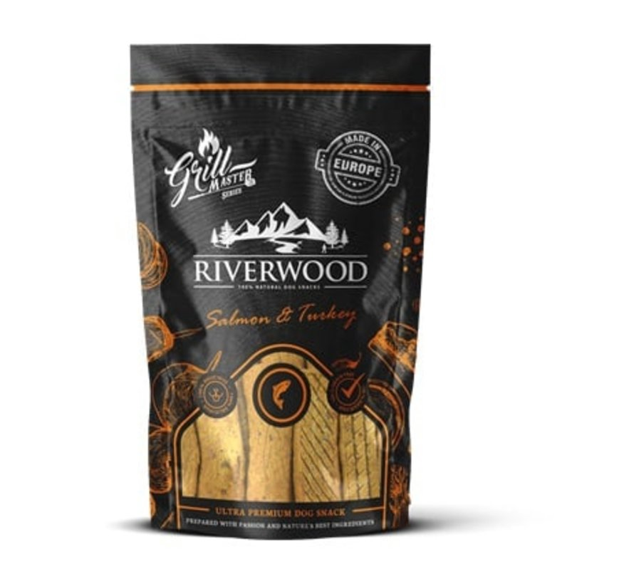Riverwood Grillmaster Kalkoen/Zalm 100gr